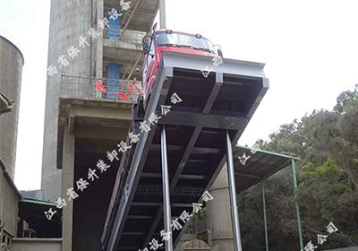 广西液压翻板卸车机的优势分析