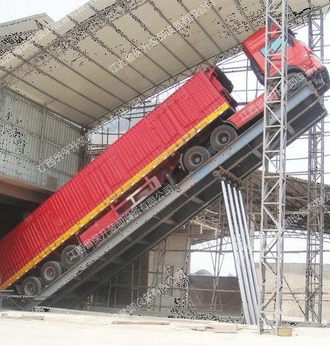 卸车机的升降稳定性高,保升可靠产品
